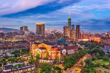 Taiwan City Skyline.