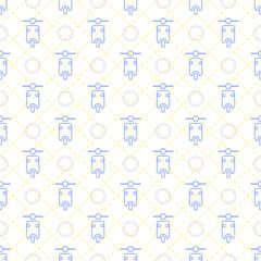 seamless motorcycle pattern background
