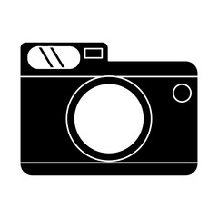 photo camera picture travel pictogram vector illustration eps 10