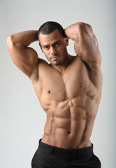 Male Fitness Model with Abs