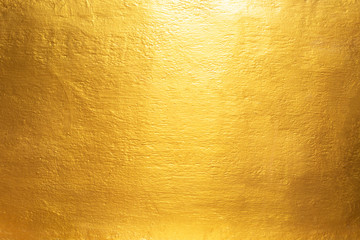 Gold concrete wall on background texture. Wall mural