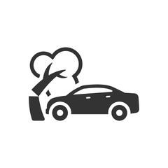 BW Icons - Car crash