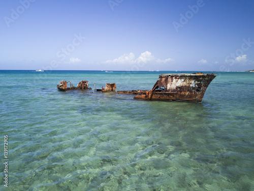 Shipwreck Aruba Malmok Beach