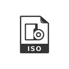 BW icon - ISO file format