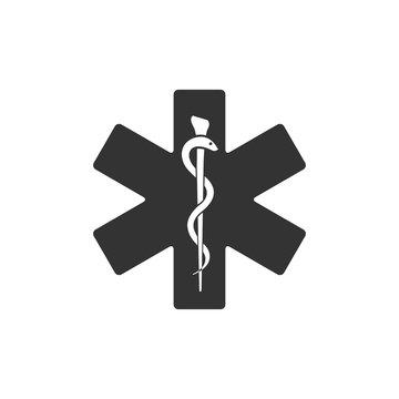 BW icon - Medical symbol