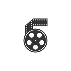 BW icon - Movie reel
