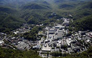 Gatlinburg Tn Aerial View