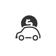 BW icon - Car piggybank