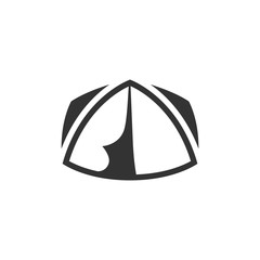 BW Icons - Camping tent