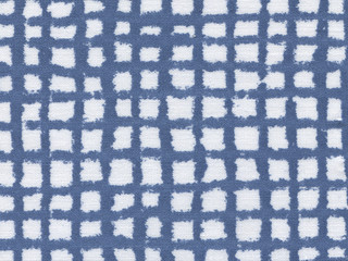 texture of cotton check fabric for background.