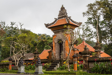House on Bali island near Botanical Garden, Indonesia
