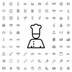 chef icon illustration