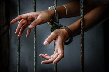 Prisoner in prison