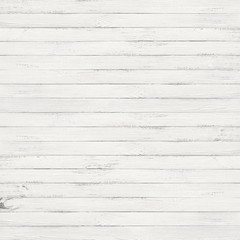 Wall Mural - white wood texture background