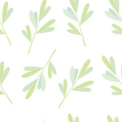 Beautiful seamless background with tree branches. Perfect background greeting cards and invitations to the wedding, birthday, mother's day and other seasonal holidays