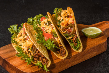 タコスセット Mexican food tacos set