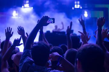 festival crowd