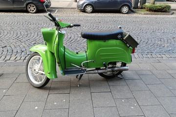 Scooter Scooter vert vintage