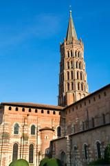 Poster de jardin Monument Basilique Saint-Sernin, Toulouse