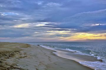 Heavenly Glowing Seashore Sunrise