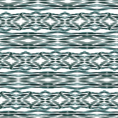 Ikat Ogee Background