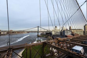 Williamsburg Bridge from Brooklyn Bridge