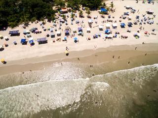 Top View of a Brazilian Beach