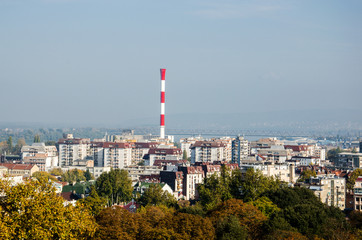 Panorama of the City of Belgrade