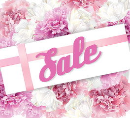 Peony sale banner