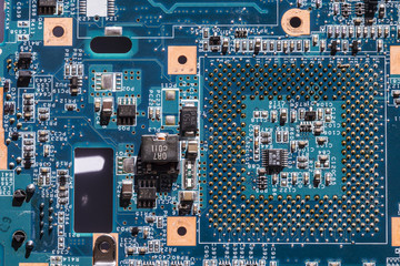 Detail of electronic circuits