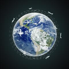 Fototapete - Traveling concept