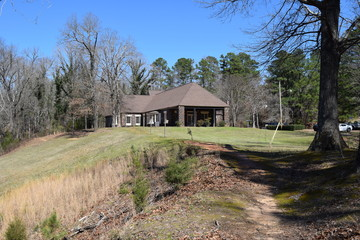 Park office in Wall Doxey State Park, Mississippi