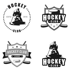 Hockey Team Winter Sport Vintage Style Collection