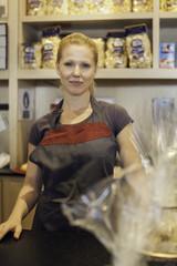 Shopkeeper, portrait
