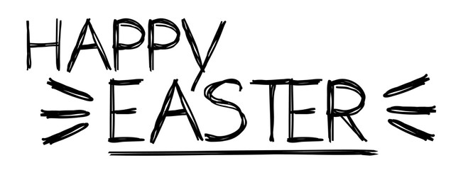 Happy Easter /Text