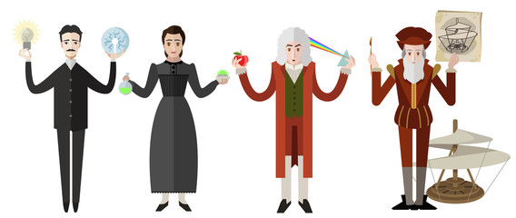 four great scientist from all the time