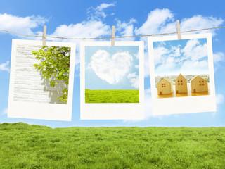 photo Frame Clothespins outdoor