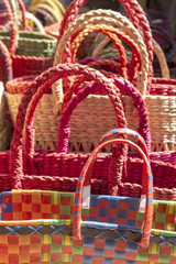 colorful india basket