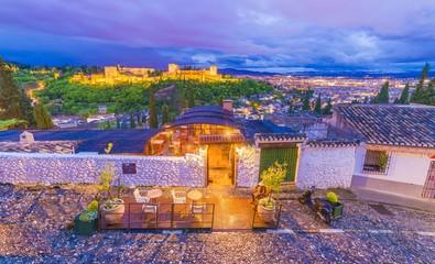 Wall Mural - Alhambra palace,  Granada, Andalusia, Spain.