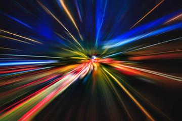 light explosion effect