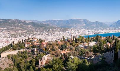 Alanya cityscape. Turkey