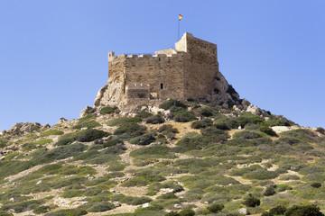 Castle in the Cabrera island