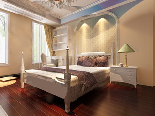 rendering bed room,so comfortable.