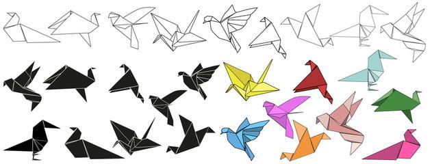 origami bird, crane