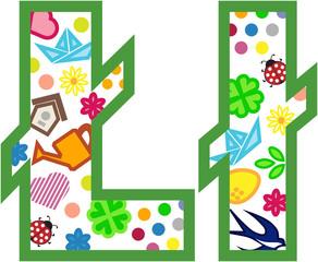 Alfabet wiosna