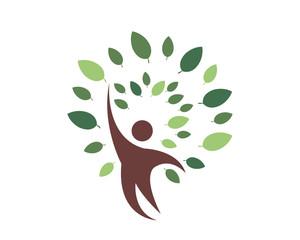 Huamn Tree Logo Icon