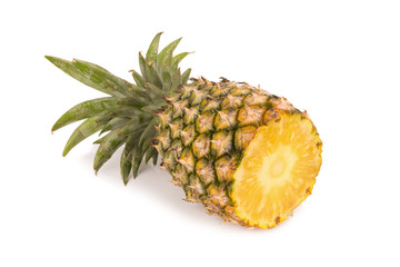 Pineapple isolated no white Background