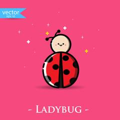 Ladybug. Vector, illustration, eps10.