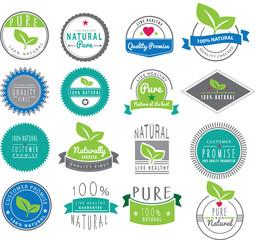 natural themed logos