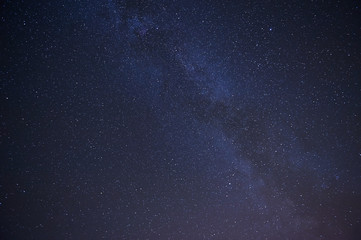 Real night sky with stars